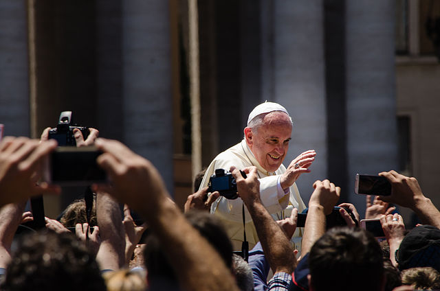Pope Francis in St Peter's square - Vatican | Alfredo Borba